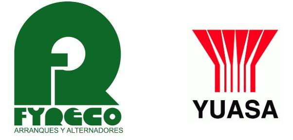 Ponemos a disposición de nuestros clientes una amplia gama de productos YUASA y FYRECO.