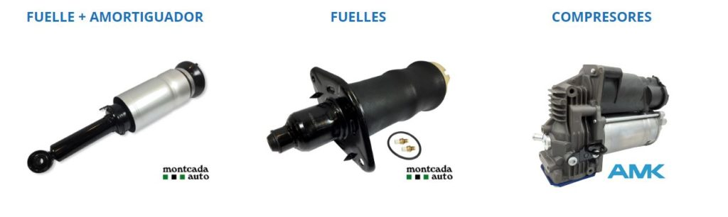 Fuelles de suspensión neumática
