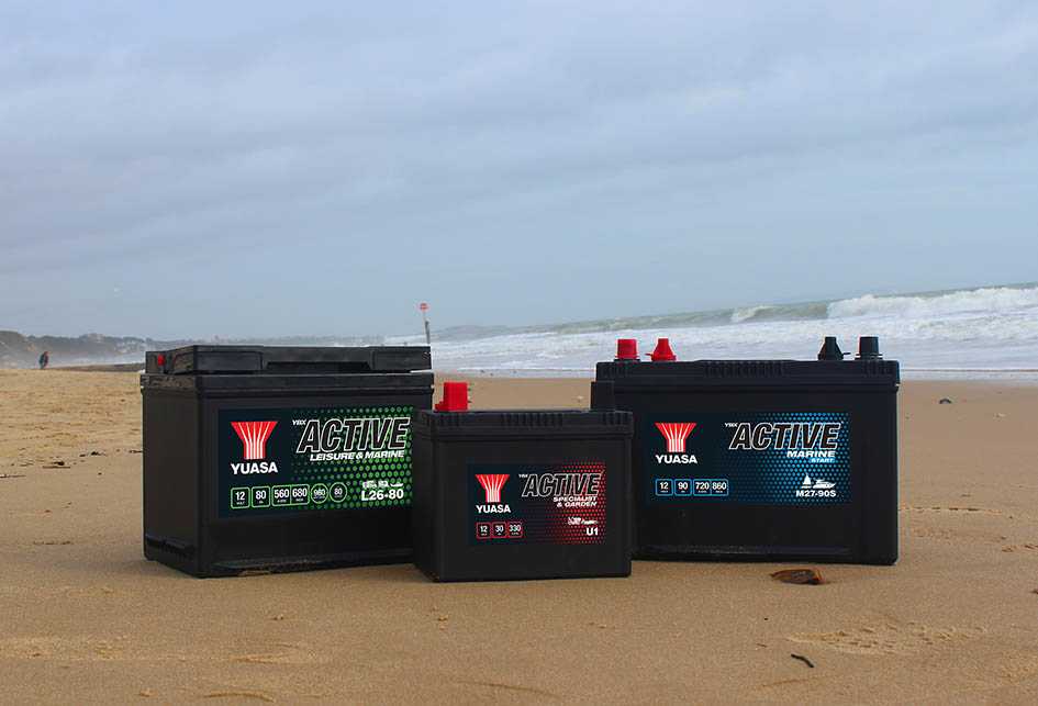 Lanzada a comienzos de año, para uso tanto de ocio, náutica y jardinería. Esta gama Yuasa incluye baterías para caravanas, embarcaciones de recreo, corta céspedes, tractores de jardinería y otros equipos.