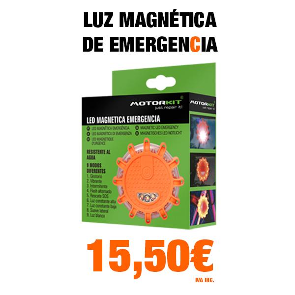 LUZ DE LED MAGNÉTICA DE EMERGENCIA
